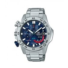 Casio Edifice Quartz Chronograph Silver-Tone Bracelet 48mm Watch EFR558D-2A