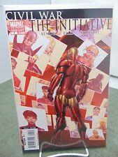 Civil War the Initiative #1 2nd Print Variant Cover Marvel Comics vf/nm CB2184