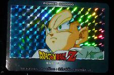 DRAGON BALL Z DBZ CARDDASS CARD PRISM CARTE 918 HOLO NEUF