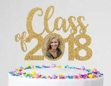 Class Of 2021 Cake Topper Photo Frame Graduation Party Personalized Custom Year