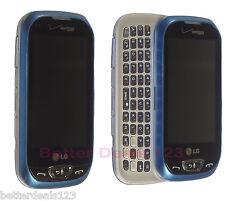 LG Extravert 2 VN280 - Blue (Verizon) Cell Phone Touchscreen QWERTY Keyboard FRB