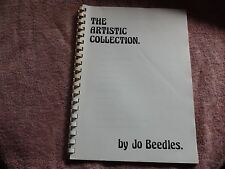 KNITTING MACHINE MAGAZINE/ BOOK: THE ARTISTIC COLLECTION BY JO BEEDLES