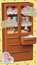 Re-Ment Miniature Mini Wall Cabinet Brown