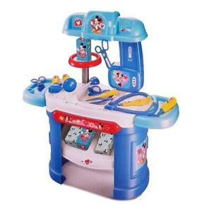 Mickey Mouse Educational Pretend Doctor Nurse Desk Medical Kit Play 013
