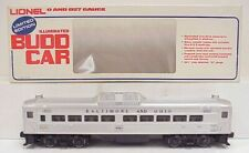 Lionel 6-8767 Baltimore & Ohio RDC Budd Passenger Dummy Car LN/Box
