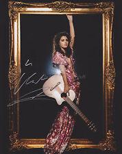Katie Melua HAND SIGNED 8x10 Photo Autograph, Nine Million Bicycles (B)