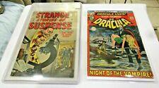 TOMB OF DRACULA # 1 1972 NEAL ADAMS STRANGE STORIES OF SUSPENSE 15 1957 CGC 8.5?