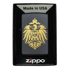 Deutsches Reich Zippo Feuerzeug mit Gravur Reichsadler Adler Wappen Deutschland