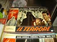 THE TERRORE fotobusta original 1947 H. DANIELS V. PATTON type A