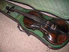 """Schöne alte, sehr hochgewölbte Geige """"A. Kloz Mittenwald"""" old violin high arched"""