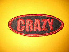 Patch - Aufnäher - Crazy - Rock'n'Roll - Rockabilly