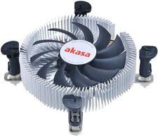 Akasa AK-CC7122EP01 26mm Bajo Perfil Disipador calor Integrado PWM Ventilador