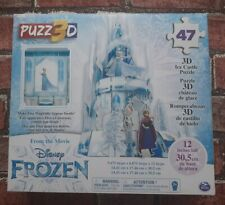 Disney Frozen II Puzz3D - Frozen 2 47 Piece 3D Ice Castle Puzzle - New