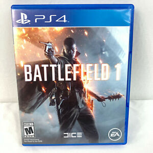 Battlefield 1 for PS4 by EA Up to 64 Player Epic Battles Rated Mature 2016