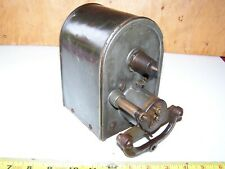 Old KW Model T IHC MOGUL 10-20 Tractor Magneto One Cylinder Hit Miss Engine HOT!