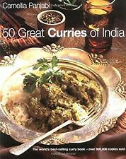 50 Great Curries of India (Book & DVD), Panjabi, Camellia, Used; Good Book