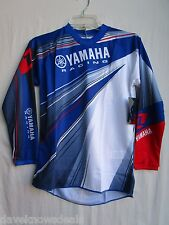 YOUTH motocross BMX jersey ONE INDUSTRIES YAMAHA large BLUE 51171-339-053