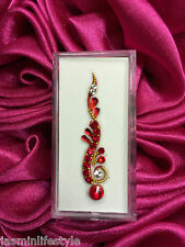 Ladies Indian Bollywood Designer Diamante Crystal Bindi Body Jewel Party Sticker