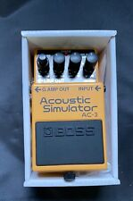 TOP: BOSS Acoustic Simulator AC 3 - Effektgerät - Gitarreneffekt - Gitarre