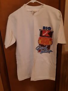 Rare Vintage *NEW* NASCAR RACING Darrell Waltrip KMART Shirt ROUTE 66 VTG Size M
