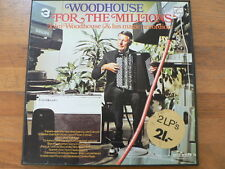 LP RECORD VINYL BOX 2 LP SET JOHN WOODHOUSE FOR THE MILLIONS PHILIPS ACCORDION