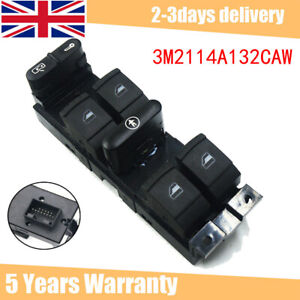 FOR FORD GALAXY 1995-2006 POWER MASTER WINDOW SWITCH CONSOLE 3M2114A132CAW NEW