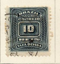 Brazil 1906 Early Issue Fine Used 10r. NW-16950