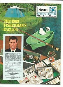 1969 SEARS Ted Williams Boston Red Sox Fisherman's Catalog