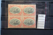 STAMPS NORTH BORNEO   vf MNH** block of 4 1897 8c  (ros5957