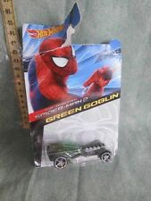 MATTEL HOT WHEELS SPIDER MAN 2 GREEN GOBLIN