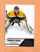 TUUKKA RASK PANINI ALL GOALIES 2011  CARD # 9