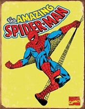 Marvel Comics The Spider-man Large Vintage Retro Metal Tin Sign 1437
