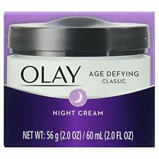 OLAY Age Defying Classic Night Cream Nourishing moisture replenishes skin.2.0 oz