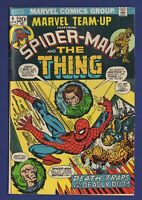 Marvel Team-Up #6 Spider-Man and the Thing The Thinker and The Puppet Master