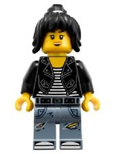 Genuine Lego Ninjago minifigure Nya ninja Leather jacket mini figure BN
