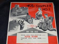 "Vintage Vinyl Collectable & Rare 1960's"" W & G Sampler NO. 1""  LP  (N/M)"