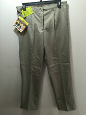 BNWT Ladies Sz 16 Bisley Brand Taupe Permanent Press Work Pants Insect Protect