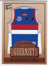 2004 Select Ovation Heritage Guernsey Card  - Western Bulldogs
