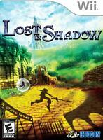 Lost in Shadow [Nintendo Wii, Konami. RPG. Adventure, Shadow Unlocks] NEW