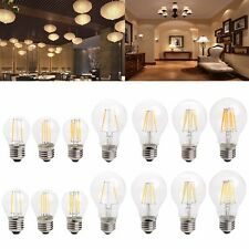 2W 4W 6W 8W G45 A60 E27 LED Dimmer Filament Light Bulb Lamp Energy Saving 220V