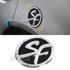 Chrome Oil Fuel Tank Cover Molding Trim Garnish for HYUNDAI 2013-2018 Santa Fe