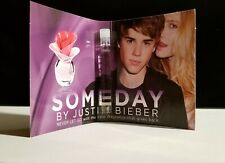 Someday by Justin Bieber Eau De Parfum Womens Perfume Sample  (1.5ml each)