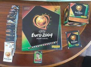 EURO 2004 Complete Loose Set & Empty Album Cristiano Ronaldo Rookie Panini NM