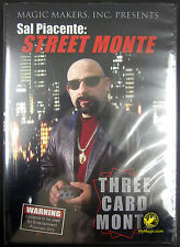 Sal Piacente Street Monte Three Card Monte : New Dvd