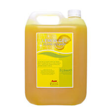 4 x 5 Litre Lemon Floor Cleaner Gel - Strong Smell Top Quality