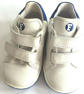 NEW Falcotto Smith baby US 3 EURO 19 all leather first shoe easy on rubber sole
