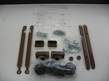 Baby Crib-Complete Hardware Kit-Brown