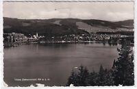 Ansichtskarte Blick auf den Titisee im Hochschwarzwald - Ortspanorama - s/w