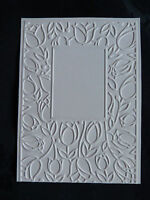 Crafts-Too/CTFD3051/C6/Embossing /Folder/Tulip Window Frame