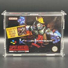 Killer Instinct   SNES   Super Nintendo   W Soundtrack  New Factory Sealed   PAL